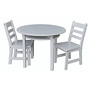 children 39 s round table and chair set toys games. Black Bedroom Furniture Sets. Home Design Ideas