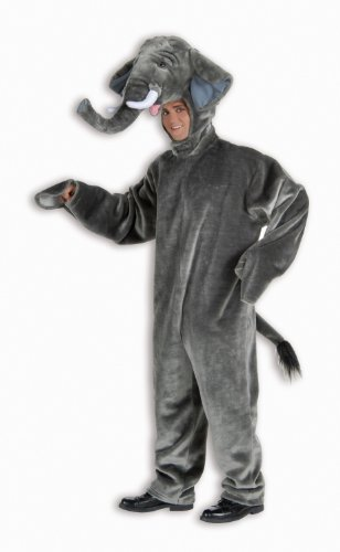 Deluxe Plush Elephant Costume Adult