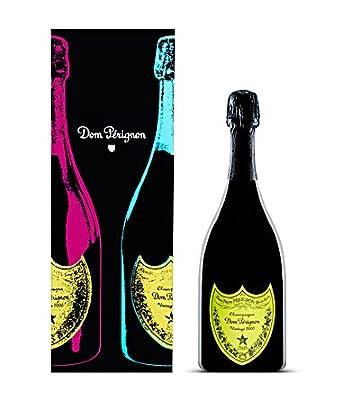 Dom Pérignon Vintage 2000 Champagner Andy Warhol Edition Geschenkpackung  Gelb, 1 Flasche (1 x 750 ml)