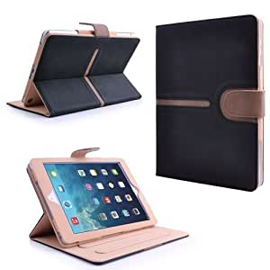 MOFRED® Buckle Suede Leather Apple iPad Air (Launched Nov. 2013) Case-MOFRED® Executive Suede Leather Case for Apple iPad Air with Built-in magnet for Sleep & Awake Feature