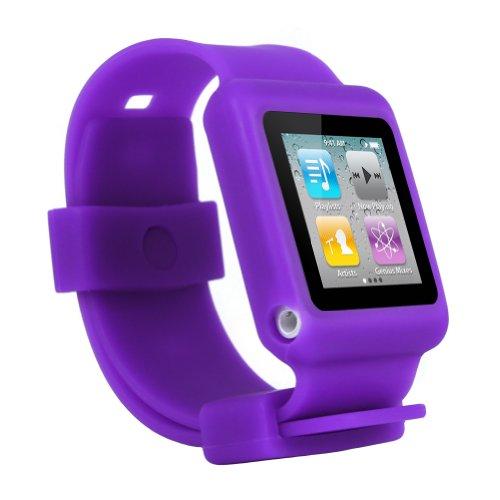 buy online 90a51 d1cd4 Gps Watch: iPod Nano 6th Gen watch wrist band skin case for iPod ...