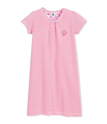 Petit Bateau Bench-Camicia da notte Bambina    Multicolore (Joue/Ecume) 8 anni