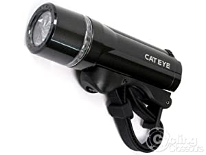 Click Here For Cheap Cateye Bike Light Compact Opticube Hl-el410 - Black For Sale