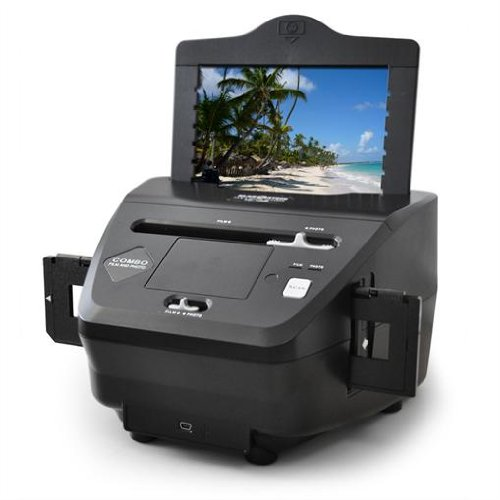 Klarstein Combo Slide Film Photo 5.1 Megapixel Scanner - 3600dpi
