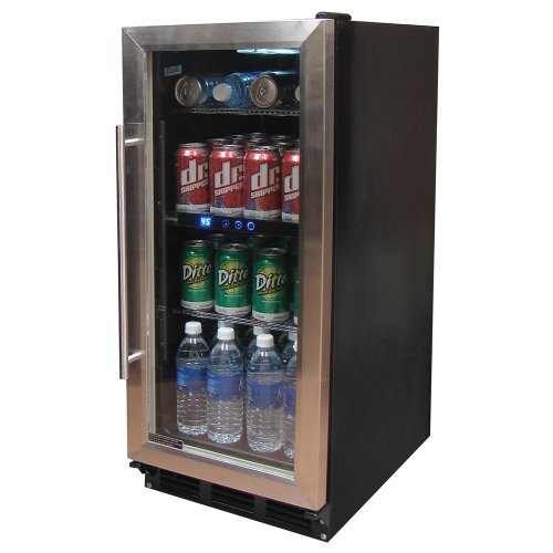 Built In Wine Cooler Cabinet front-28307
