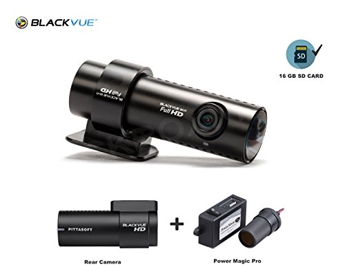 Blackvue new 2 channel dr650gw-2ch 16gb with power magic pro, car black box/car dvr recorder, built-in wi-fi, full hd(1080p@30fps), up to 64gb support