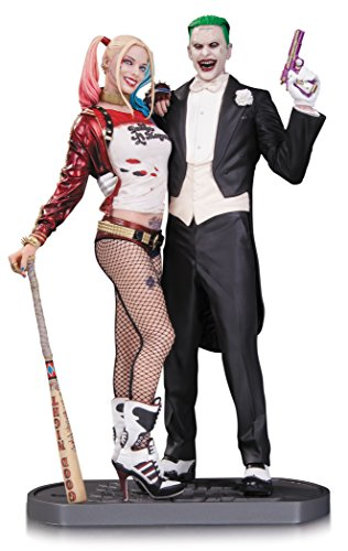 DC Collectibles Suicide Squad Movie: The Joker and Harley Quinn Statue