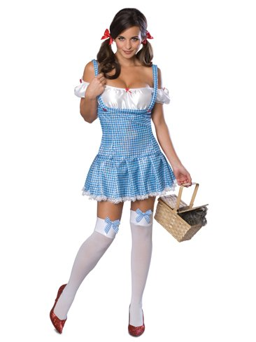 Sexy Country Girl Blue Plaid Dress Halloween and Theatre Costume Group Costume I