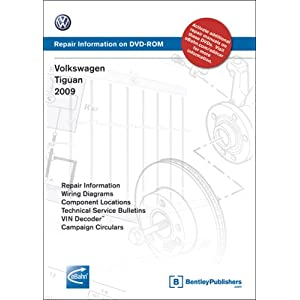 Volkswagen Tiguan 2009: Repair Manual on DVD-ROM (Windows 2000/XP) Volkswagen of America