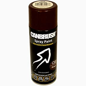 canbrush brown spray paint auto diy purpose colour aerosol can c60 diy tools. Black Bedroom Furniture Sets. Home Design Ideas