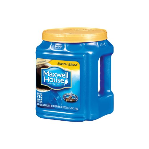 Maxwell House Ground Coffee, Master Blend (44.5 oz.) (pack of 2) (Maxwell House Master Blend compare prices)