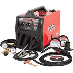 Lincoln Electric Easy Mig 140 115v Flux Coredmig Welder - 140 Amp Output Model K2697-1 by Lincoln Electric