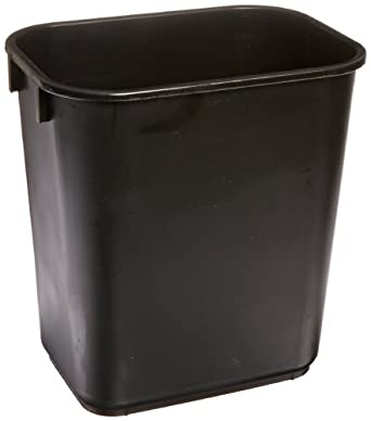 Continental Commercial HDPE Trash Can, Rectangular