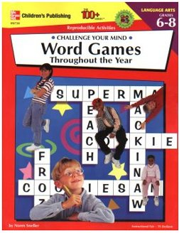 100+ Series: Challenge Your Mind, Word Games Grades 4-5 - 1