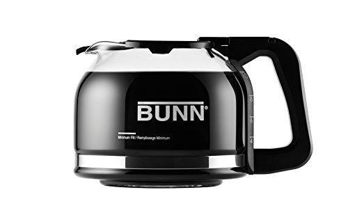 BUNN Pour-O-Matic 10-Cup Drip Free Carafe, Black (10 Cup Carafe Replacement compare prices)