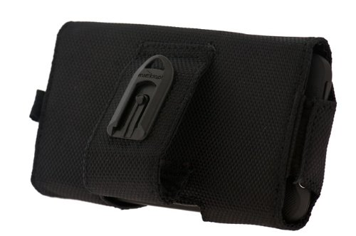 Dickies Tool Bag Pouch for HTC EVO 3D, ThunderBolt, Sensation, Motorola DROID 3, DROID Bionic, Samsung Nexus S, Infuse 4G and other Mobile Devices - Black
