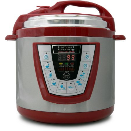 Pro 6-Quart Electric Pressure Cooker in Red - Harvest (Tfal Pressure Cooker 4 Quart compare prices)