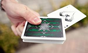 Artifice 2nd Edition Deck - Emerald Green Bicycle Playing Cards by Ellusionist