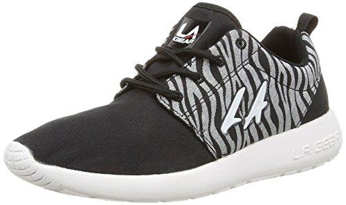 la-gear-sunrise-3614-damen-sneakers-schwarz-schwarz-noir-black-grey-black-grosse-37