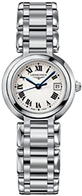 Longines PrimaLuna Silver Dial Stainless Steel Ladies Watch L81104716