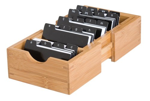 lipper-international-810-bamboo-expandable-business-card-holder-with-dividers-and-index-tabs