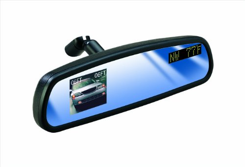 "Fit System VS2 Vision System Rear View Monitor System with 2 1/2"" Monitor, CCD Camera, Backup Sensors, Compass and Thermometer"