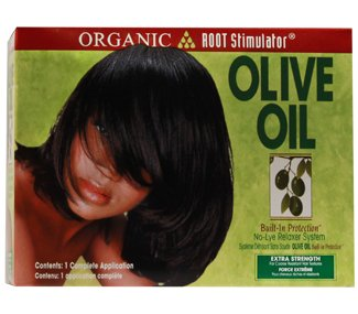 Olive Oil No Lye Relaxer Kit Extra Strength By Organic Root Stimulator Relaxer Kit
