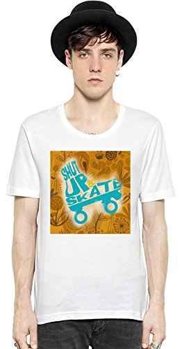shut-up-and-skate-short-sleeve-mens-t-shirt-xx-large