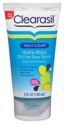 Clearasil Daily Clear Hydra-Blast Face Scrub 5oz Oil-Free