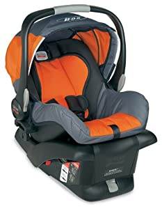BOB B-Safe Infant Car Seat, Orange