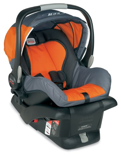 Fantastic Deal! BOB B-Safe Infant Car Seat, Orange