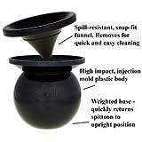 NEW Black MudJug Portable Spittoon by Mud Jug
