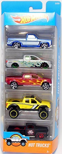 Hot Wheels, 2016 Hot Trucks 5-Pack (Hot Wheels Truck compare prices)