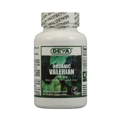 Bulk Saver Pack 8X90 Tab : Deva Vegan Organic Valerian - 460 Mg