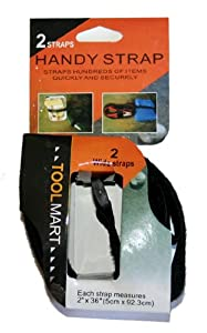 Two 3-Foot Velcro Straps - Bundles Things Together