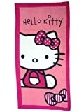 Hello Kitty 'Pink Outline' Beach / Bath Towel