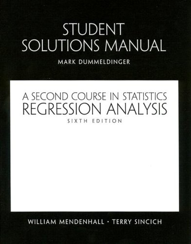 A Student Solutions Manual for Second Course in...