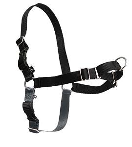 PetSafe Easy Walk EW-H-S-BK-17 Harness, Black, Small