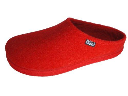 Image of Andres Machado Women's Red Alpine Slippers (B0049CGBXA)