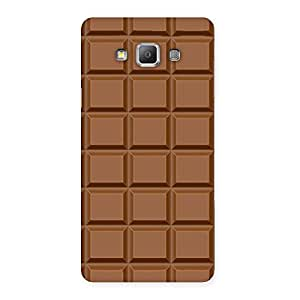 Ajay Enterprises Wall of Chocolate Back Case Cover for Galaxy A7