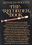 The Recorder Book (0394749995) by Wollitz, Kenneth
