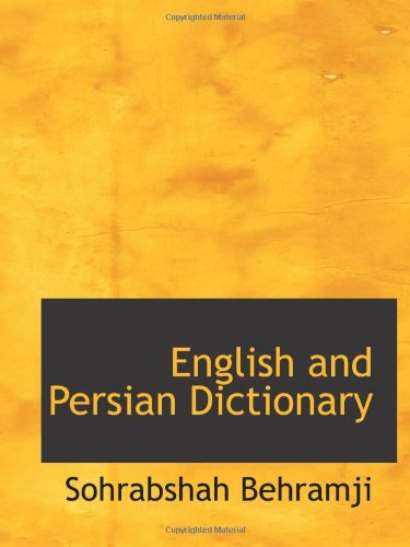 English and Persian Dictionary