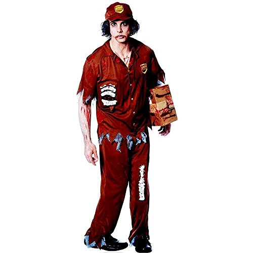 Zombie Express Delivery Driver Adult Costume