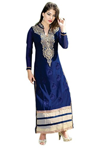Mayloz-Semi-Stitched-Georgette-Embroidered-Salwar-Kameez-M235-6002