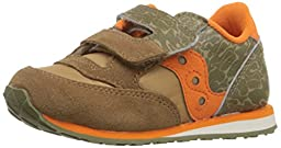 Saucony Boys Jazz H and L Sneaker (Toddler/Little Kid), Camo, 4.5 M US Toddler