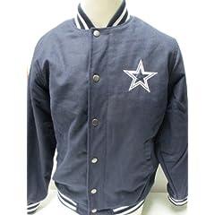 Dallas Cowboys Mens Wool Varsity Jacket by Dallas Cowboys