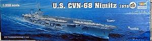 Trumpeter 1/350 U.S. CVN-68 Nimitz aircraft carrier 1975
