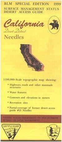 California Desert District: Needles : 30 X 60 minute series (topographic) (Desert access guide) download ebook