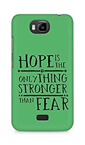 AMEZ hope is the only thing stronger than fear Back Cover For Huawei Honor Bee