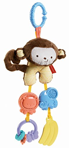 Fisher Price My Little SnugaMonkey Stroller Rattle Monkey